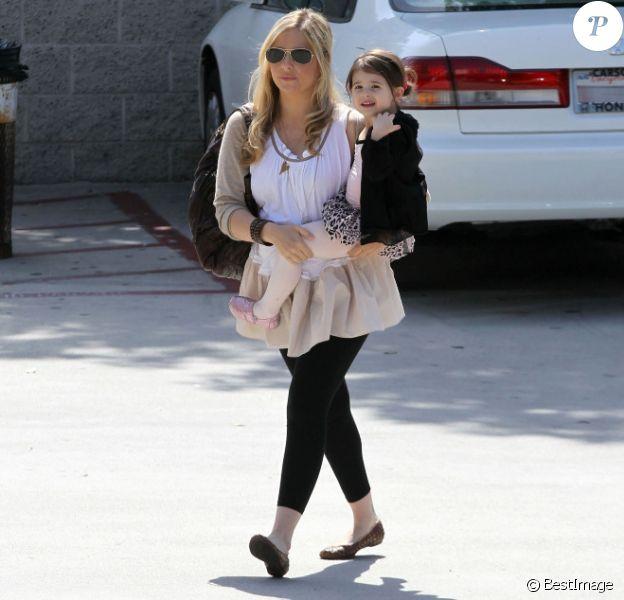 Sarah Michelle Gellar et sa fillette Charlotte, le samedi 19 mai à Los Angeles.