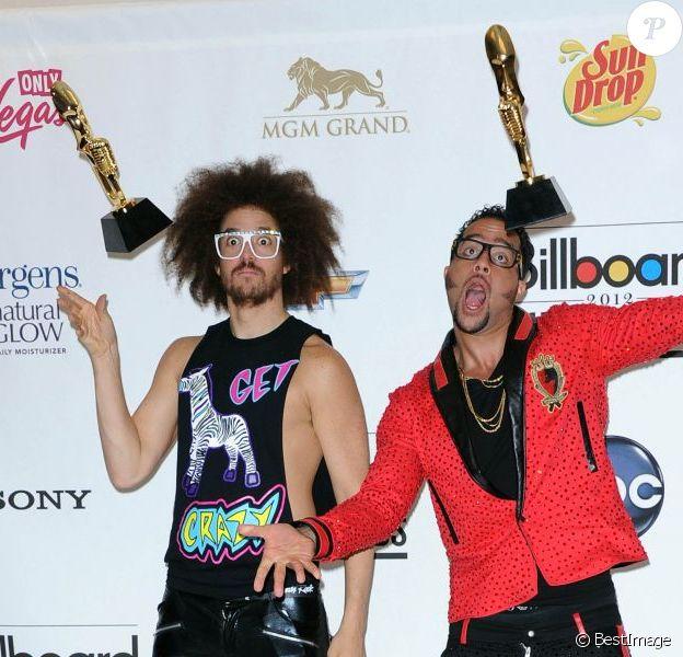 LMFAO aux Billboard Music Awards, à Las Vegas, le 20 mai 2012.
