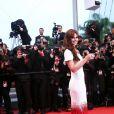 Cheryl Cole sur le tapis rouge du Festival de Cannes, le 20 mai 2012