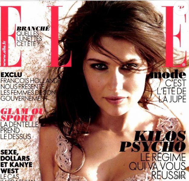 La couverture du magazine Elle du 25 mai 2012 avec Laetitia Casta