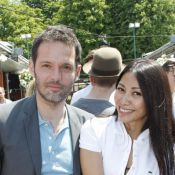 Roland-Garros : Anggun, avec son homme, se console de sa défaite à l'Eurovision