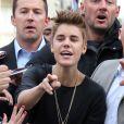 Justin Bieber à Paris le 31 mai 2012