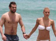 Michelle Hunziker : Torride sirène au bras de son amoureux Tomaso Trussardi