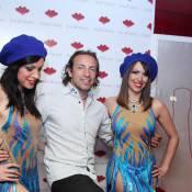 Philippe Candeloro et Annie Cordy sous le charme des danseuses du César Palace
