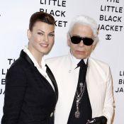 Linda Evangelista, Karolina Kurkova, Zoë Kravitz pour Chanel et Karl Lagerfeld