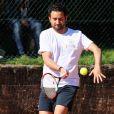 Cyril Hanouna le 7 juin 2012 lors du Trophée des Personnalités au Petit Jean-Bouin à quelques pas de Roland-Garros