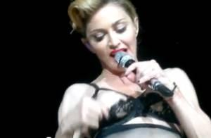 Madonna exhibe un téton sur le MDNA Tour, hystérie à Istanbul !