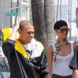 Rihanna et Chris Brown en 2008