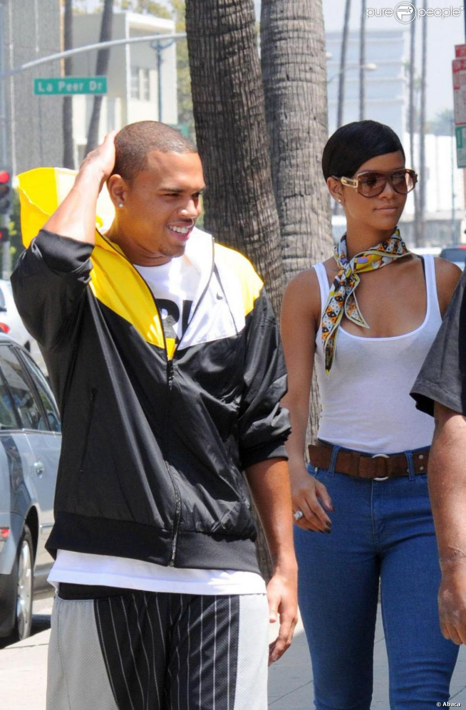 Chris Brown 2008 Rihanna et Chris Brown...