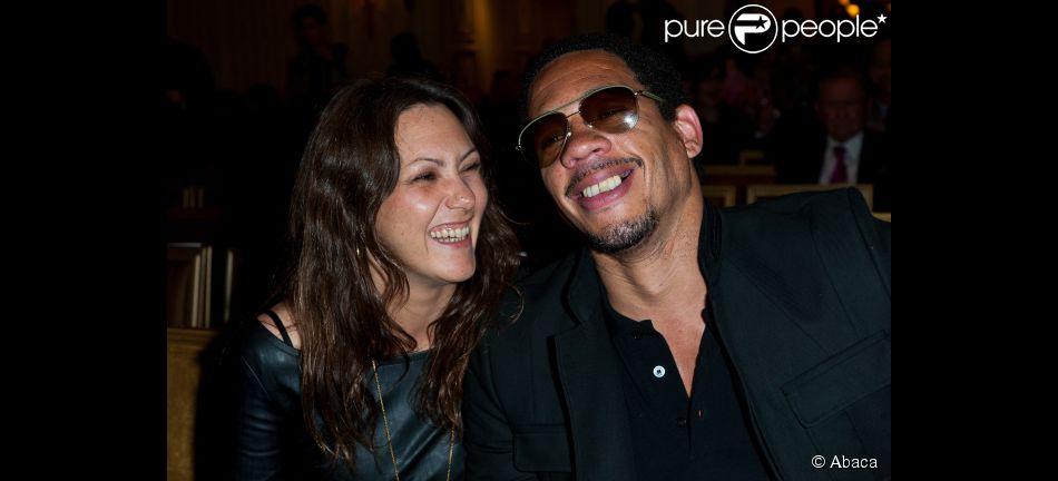 Karole Rocher et JoeyStarr lors de la cu00e9ru00e9monie de remise ...