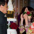 JoeyStarr et Bérénice Bejo célèbrent leur prix lors de la cérémonie de remise des Prix Romy Schneider & Patrick Dewaere, à Paris, le 11 juin 2012