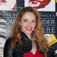 Laura Weissbecker lors de la cérémonie de remise des Prix Romy-Schneider & Patrick-Dewaere, à Paris, le 11 juin 2012