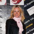 Geraldine Danon lors de la cérémonie de remise des Prix Romy-Schneider & Patrick-Dewaere, à Paris, le 11 juin 2012