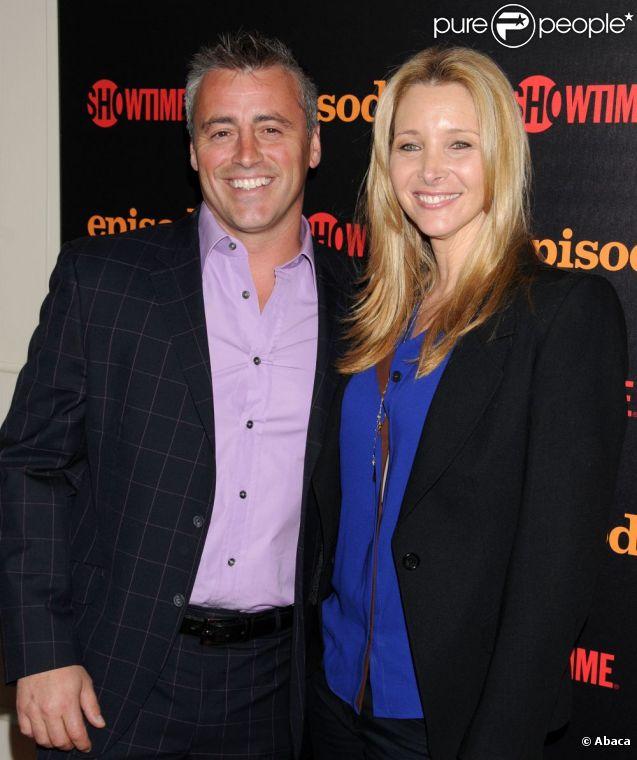 Matt LeBlanc et Lisa Kudrow à l'avant-première de la saison deux d' Episodes , à Los Angeles, le 19 juin 2012.