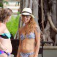 Alicia Etheredge au lendemain de son mariage avec Bobby Brown sur l'île d'Ohau à Hawai le 20 juin 2012