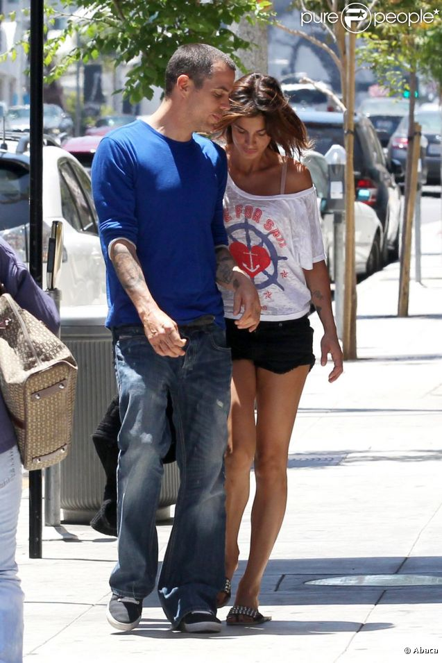 Elisabetta Canalis couple