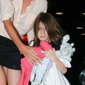 Suri Cruise : L'enfant superstar donne du fil à retordre à sa mère fatiguée