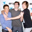 Ben Stiller, Bill Hader, Jim Carrey et Chris Rock à la soirée All Star Comedy de New York, le 23 juin 2012.