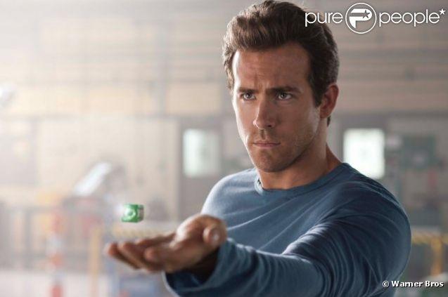 Ryan Reynolds dans  Green Lantern  (2011).