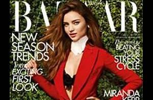 Miranda Kerr : Cavalière sexy pour la presse et icône de style pour la rue