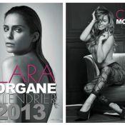 Clara Morgane : La bombe vous dévoile la couverture de son calendrier 2013 !