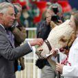 Le prince Charles à la Foire de Peterborough le 6 juillet 2012