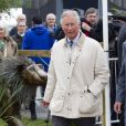 Le prince Charles en bottes Wellington à la Foire de Peterborough le 6 juillet 2012