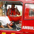 Camilla Parker Bowles inaugurait le 4 juillet 2012 en Cornouailles la nouvelle base de l'association des ambulances de l'air, dont elle est la marraine.