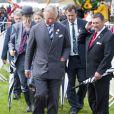 Le prince Charles en visite à la Foire de Peterborough le 6 juillet 2012.