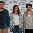 Joachim Lafosse, Emilie Dequenne et Tahar Rahim lors de l'avant-première du film A perdre la raison dans le cadre du festival Paris cinéma le 8 juillet 2012