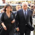 Dominique Strauss-Kahn et Anne Sinclair le 23 août 2011 à New York