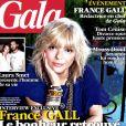 France Gall, le bonheur retrouvé... en couverture de  Gala , en kiosques le 11 juillet 2012.