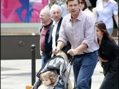 PHOTOS : Jason Bateman, promenade familiale sur les Champs-Elysées !