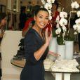 Kanye West et Kim Kardashian assistent ensemble à l'ouverture de la boutique des soeurs Kardashian à Melrose Place le 13 juillet 2012