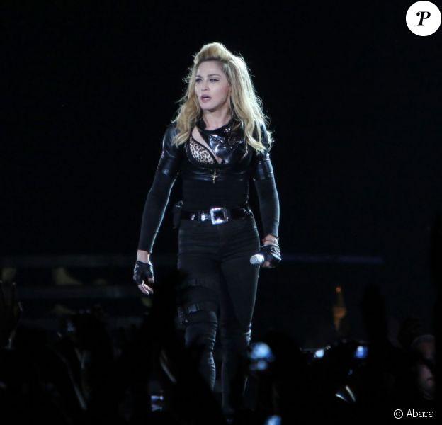 Madonna en concert au Stade de France le 14 juillet 2012