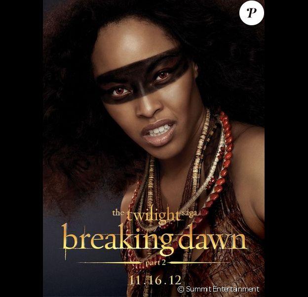 Poster de Twilight - chapitre 5 : Révélation (2ème partie) avec Tracey Heggins alias Senna