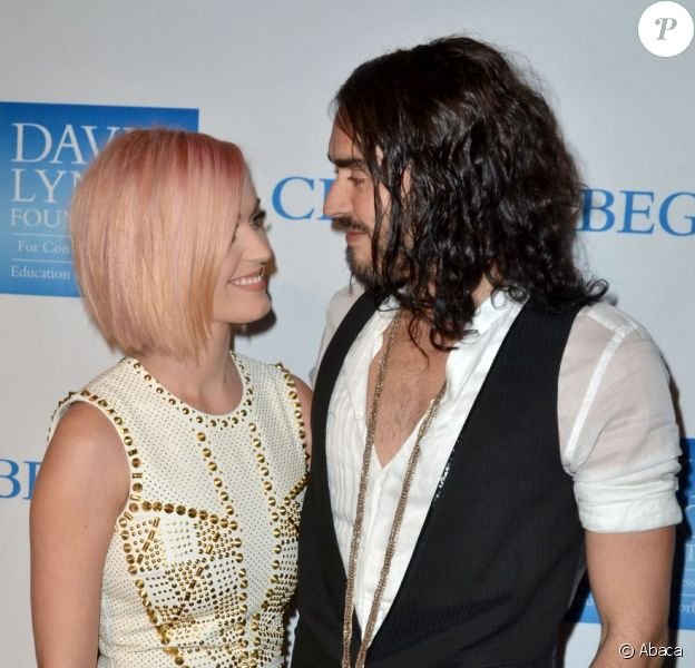 Katy Perry et Russell Brand à Los Angeles pour leur dernière apparition en tant que couple, le 3 décembre 2011.