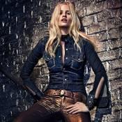 Lara Stone : La favorite de Calvin Klein prépare un hiver sexy et raffiné
