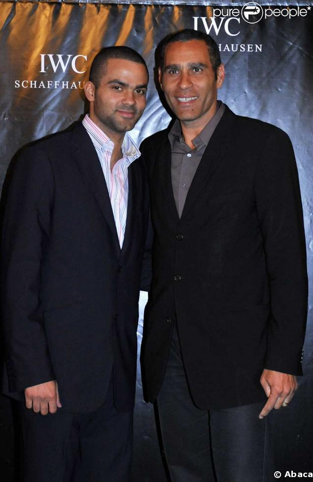 Tony Parker et Richard Dacoury – Photos Tony Parker