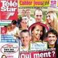 Télé Star en kiosques le 23 juillet 2012