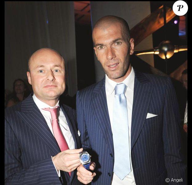 Georges Kern (PDG d'IWC) et ZIzou
