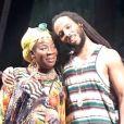 Rita et Ziggy Marley,  One love/People Get Ready  en 2011 à Benicassim en Espagne.