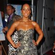 Alicia Keys à New York, le 12 juin 2008.