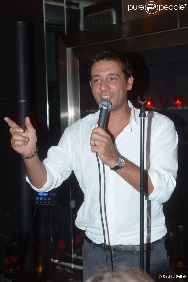 Titoff célèbre son anniversaire au VIP Room, le 21 juillet 2012.