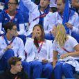 Laure Manaudou le 29 juillet 2012 à l'Aquatics Center de Londres lors des Jeux olympiques 2012