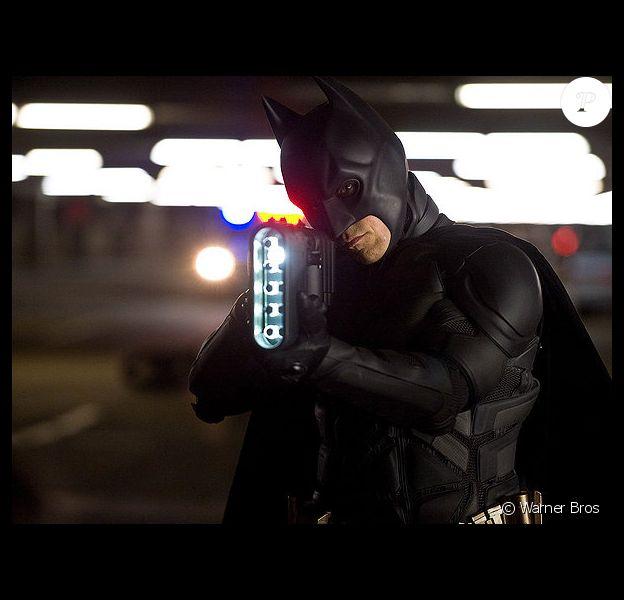 Christian Bale alias Batman dans The Dark Knight Rises de Christopher Nolan.