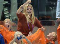 JO - La princesse Maxima et ses trois filles déchaînées à l'Aquatics Centre