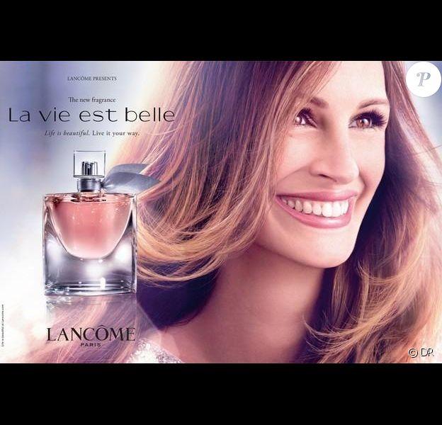 Julia Roberts pour Lancôme