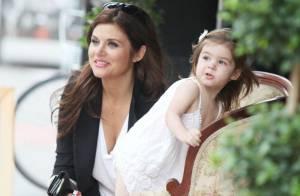 Tiffani Thiessen : Très complice avec sa fille, l'adorable petite Harper