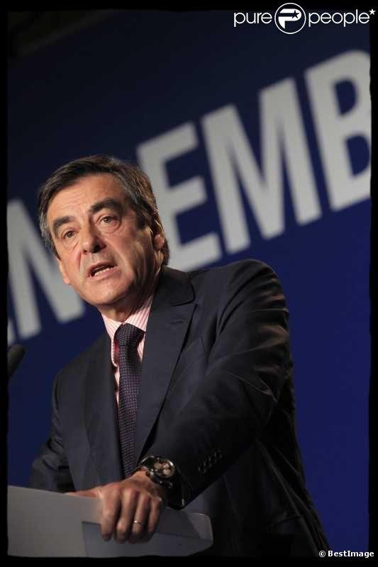 François Fillon, en mai 2012 à Paris.